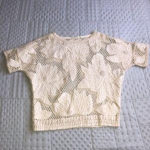 Isabel Marant Etoile Loose Knit Floral Top
